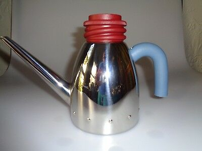 Alessi Michael Graves Pre-Owned Oil Can Mg31 Az 2000 Cruet With Polyamide Italy