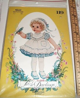 """M 8796 ENCHANTED FOREST 2 26/"""" DOLLS W// DRESSES PATTERN Reduced!"""