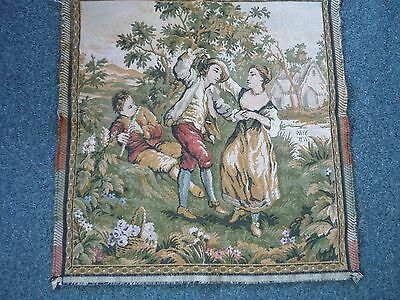 Vintage Tapestry Dancing Couple