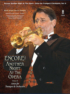 Encore! Another Night at the Opera Arias Vol 2 Trumpet Sheet Music Book CD NEW