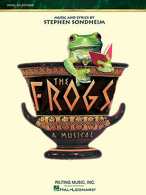 The Frogs Musical Vocal Piano Sheet Music Lyrics 10 Songs Hal Leonard Book NEW