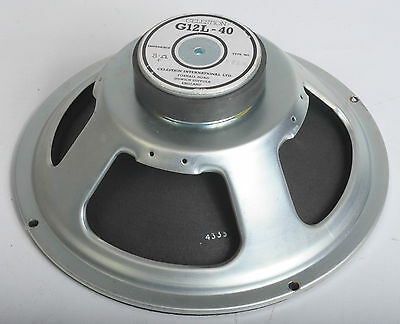 "CELESTION G12L-40 8 oHMS 12"" SPEAKER DRIVER UNIT"