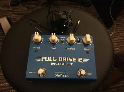 Fulltone Fulldrive 2 Mosfet Pedal - Handmade in the USA Guitar Pedal Distortion