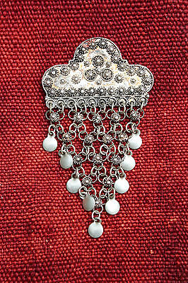Broche Argent 900, Maille