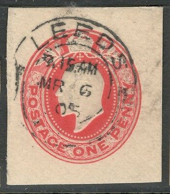 Edward VII - 1d Red - Embossed - Good Cancel