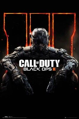 Call Of Duty - Black Ops 3 Krieger Gaming Poster Plakat (91x61cm) #91054
