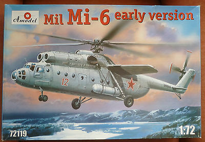 Amodel 1:72 Mil Mi-6 early version