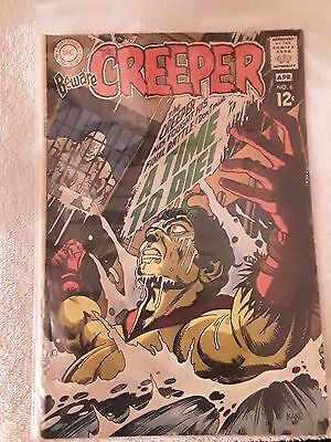 "Dc Comics The Creeper ""a Time To Die "" Comic # 6 1969 Issue"