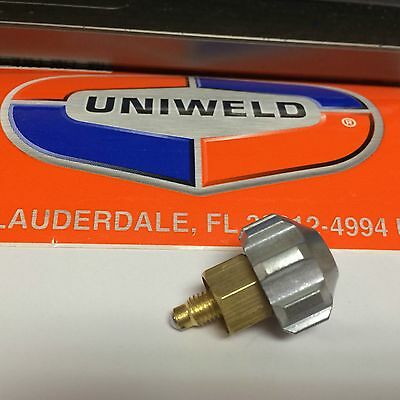 Uniweld TH16 Valve Stem Assembly, For Uniweld Welding Torch's & Cutters