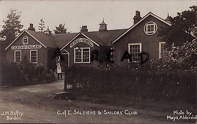 View of Church of England Soldiers & Sailors Club Bordon Camp
