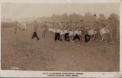Soldier Group East Lancashire TF Territorials Band at Church Parade West Down