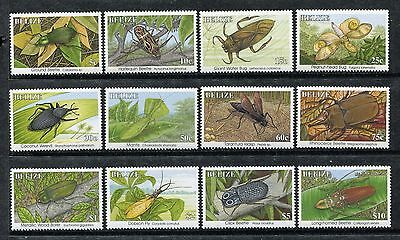 Belize 1035-1046, MNH, Insects Beetles 1995. x23952