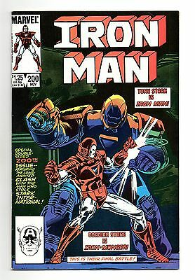 Iron Man Vol 1 No 200 Nov 1985 (VFN)