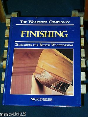 Book The Workshop Companion Finishing Techniques For Better Woodworking Wood
