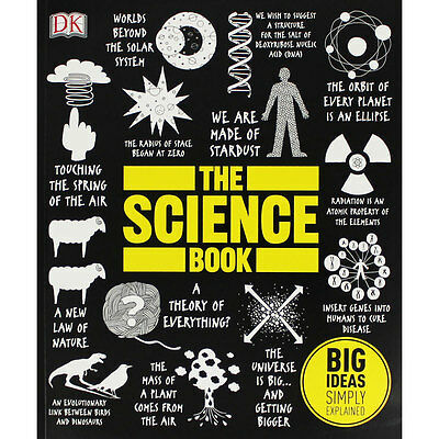 The Science Book by DK (Paperback), Non Fiction Books, Brand New
