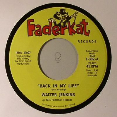"JENKINS, Walter - Back In My Life - Vinyl (7"")"