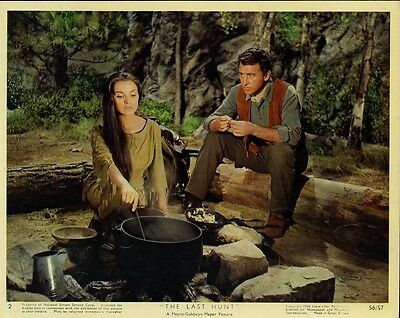 Debra Paget  Stewart Granger The Last Hunt   Orig 8X10 Photo   X1667