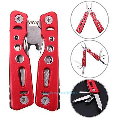 Mini Pocket Knife Folding Travel Multi Tool Portable Stainless Steel Pliers DIY