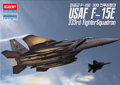 1/72 USAF F-15E 333rd Fighter Squadron / Academy model kit / #12550