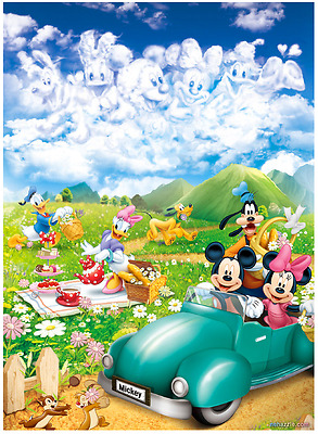 """Jigsaw Puzzles 1000 Pieces """"Mickey's Picnic"""" / Disney / Toy&Puzzle"""