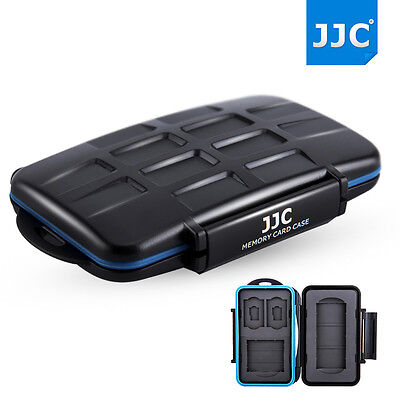 JJC Water-resistant Anti-shock Memory Card Case for 1 SXS+1 CF+2 SD+2 MSD Cards