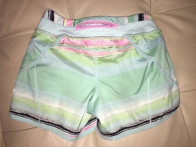 Ivivva Lululemon Athletica Girl Multi Color Skirt Sz.8