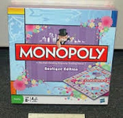 Monopoly Boutique Edition ~ Great Gift Idea ~ Board Game