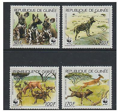 Guinea 1987 Wildlife (part set) - MNH - SG 1325/8
