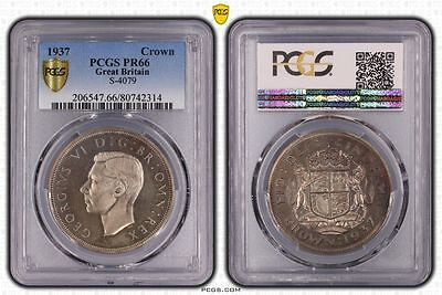1937 PR66 Great Britain Crown S-4079 PCGS GRADED