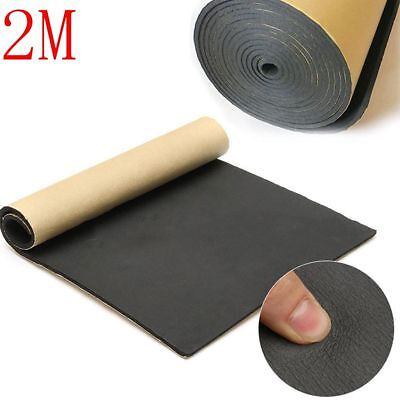 1M*2M 3mm Car Auto Van Sound Proofing Vibration Mat Insulation Closed Cell Foam