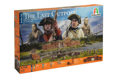 Italeri 6180 - 1/72 Set The Last Outpost - French & Indian War 1754-1763 - Neu