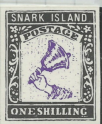 GB STAMPS, A SNARK ISLAND ESSAY PRISTINE FROM OLD BOBBLES BASEMENT @ 90p