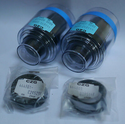 "Pair Zeiss Axioskop Microscope Eyepieces Pl 10X /20 ""44 40 31 & 32"" - Un-used"