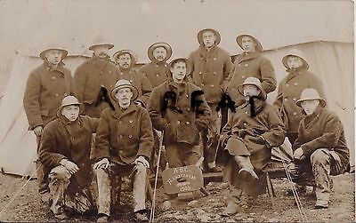 Soldier Group AOC Army Ordnance Corps Sou'wester Greatcoat Trawsfyndd Mar 1909