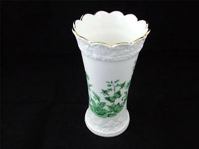 Aynsley Porcelain Cottage Green Vase.