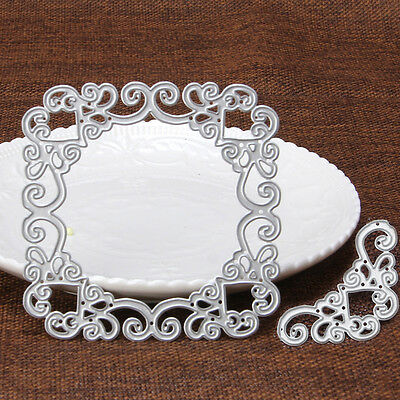 Vine Frame Metal Cutting Dies Stencil Scrapbook Paper Card Craft Embossing DIY