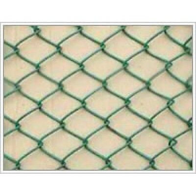 Chainlink Pvc Green Coated Fencing 6Ft, 25Mts Long