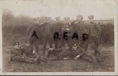 WW1 Soldier Group Glosters 6th Battalion Gloucestershire Regiment