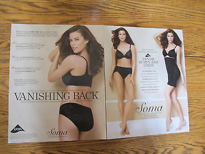 Soma Lingerie  Print Ads,clippings,kim Cloutier