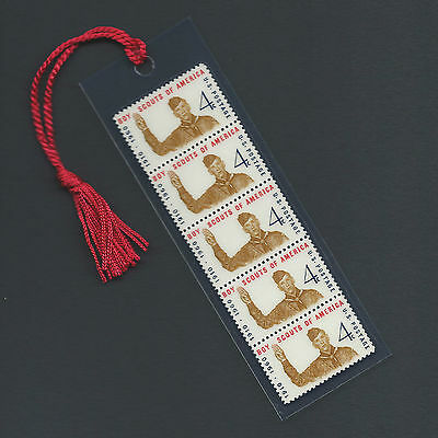 Boy Scouts of America Stamps Bookmark by Norman Rockwell Unique L@@K!