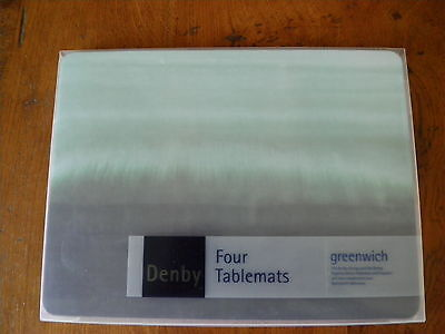 """Set of 4 Denby Placemats """"Greenwich"""""""