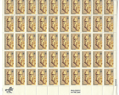 Scott #1437...8 Cent...Puerto Rico...Sheet of 50 Stamps