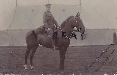 Soldier Trooper Albert P ? James ? Dorset Yeomanry ? Shaftesbury ? 1907