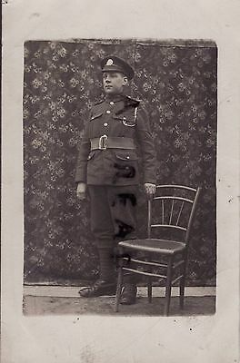 WW1 Soldier Private Northants Northamptonshire Regiment in France
