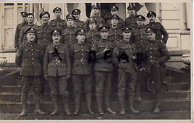 WW1 soldier group Royal Engineers Battle Patch Lille 1918