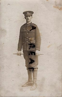 WW1 soldier 4th Battalion KSLI Kings own Shropshire Light Infantry Swansea photo