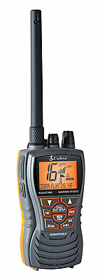 Cobra HH350 6 Watt Floating Waterproof Handheld VHF Marine Radio