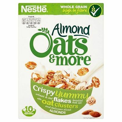 Almond Oats & More Cereal 425g