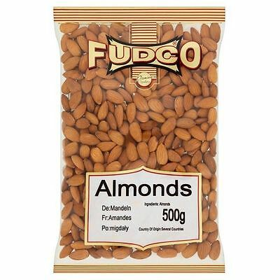 Fudco Almonds 500g