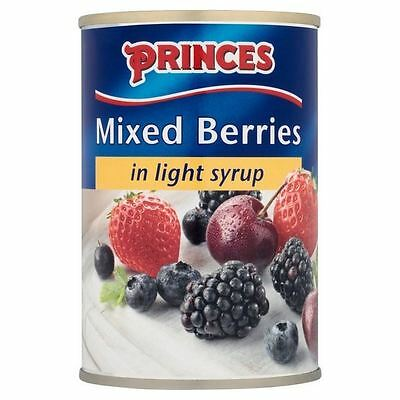 Princes Mixed Berries In Syrup 290g